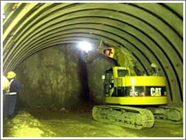 須知第1トンネル 貫通式