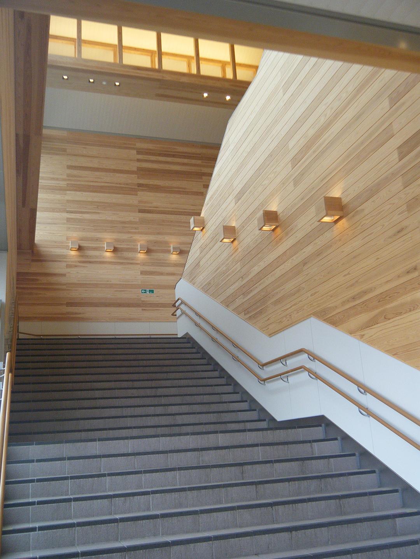 JR廿日市駅階段