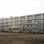 東村山第五中学校耐震補強の写真