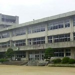 香芝市立二上小学校耐震補強工事の写真