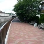 善福寺川整備工事の写真