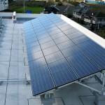 安楽川小学校 太陽光発電設備の写真