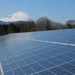 大井町太陽光発電所の写真