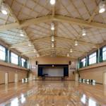 真崎小学校屋内運動場の写真