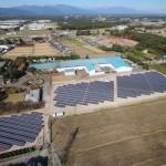 那須太陽光発電所の写真