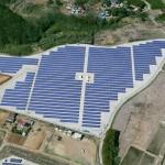 千葉商科大学野田太陽光発電設備の写真