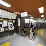 阪急嵐山線 駅改修の写真