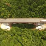 菅波大橋下部工の写真