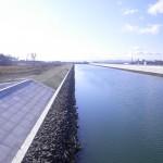 南貞山運河河川災害復旧の写真